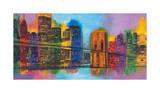 Hello NYC Giclée-tryk af Brian Carter