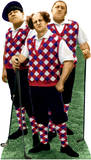 The Three Stooges - Golfing Lifesize Standup Cardboard Cutouts
