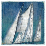 Sail Away II Giclee Print by Charlie Carter