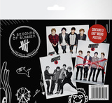 5 Seconds of Summer Micro Poster Set Plakater