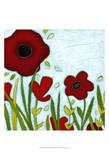 Precious Poppies III Prints by June Erica Vess