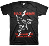 Black Sabbath - Sold Our Soul T-shirts