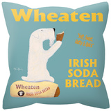Wheaten Irish Soda Bread Pillow Throw Pillow