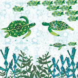 Turtles Posters by Sarah Millin