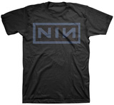 Nine Inch Nails - Nin Navy Shirts