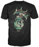 Notorious B.I.G - Camo Crown T-shirts