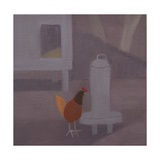 Potager Chicken, 2014 Giclee Print by Mary Mabbutt