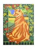 Cat 1, 2014 Giclee Print by Jennifer Abbott