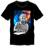Albert Einstein - Smoking Colors Shirt