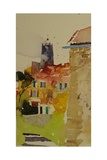Clocher, Languedoc. 2002 Giclee Print by Simon Fletcher