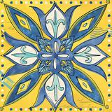Tuscan Sun Tile II Color Kunstdrucke von Anne Tavoletti