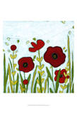 Precious Poppies II Posters by June Erica Vess