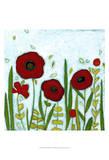 Precious Poppies I Prints by June Erica Vess