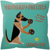 Sheperd's Pretzels Pillow Throw Pillows