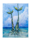 Two Seedlings, 2006 Giclee Print by Xavier Cortada