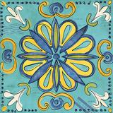 Tuscan Sun Tile IV Color Kunstdrucke von Anne Tavoletti