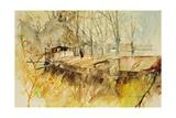 Canal Du Midi, 2000 Giclee Print by Simon Fletcher