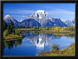 Jackson Lake Framed Photographic Print by Blaine Harrington
