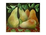 Pears, 2014 Giclee Print by Jennifer Abbott