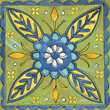 Tuscan Sun Tile III Color Print by Anne Tavoletti