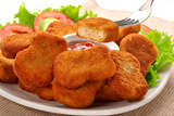 Nuggets with Salad Photographic Print by  highviews