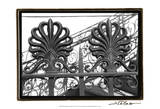 Wrought Iron Elegance I Prints by Laura Denardo