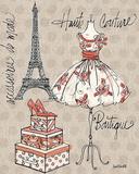 Fashion Week II Kunstdrucke von Anne Tavoletti