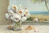 Coastal Roses v.2 Posters par Danhui Nai