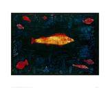 The Golden Fish, 1925 Giclée-trykk av Paul Klee