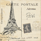 Postcard Sketches III アート : アン・タヴォレッティ