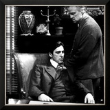 The Godfather, Al Pacino, Marlon Brando, 1972 Prints