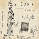 Postcard Sketches I Affiches par Anne Tavoletti