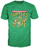 Teenage Mutant Ninja Turtles - TMNT Group T-shirts