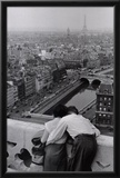 View from the Towers of Notre Dame Posters by Henri Cartier-Bresson