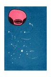 Seedpod Space Monster, 2013 Giclee Print by Bella Larsson