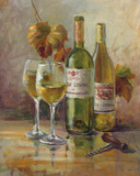 Opening the Wine II Art by Danhui Nai