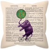 Circus Elephant Pillow Throw Pillows