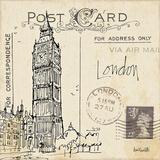 Postcard Sketches II ポスター : アン・タヴォレッティ