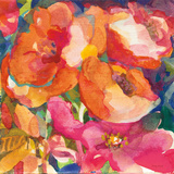 Wild Beach Roses II Prints by Dusty Knight