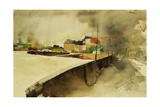 Monkstown Harbour, 2003 Giclee Print by Simon Fletcher