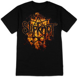Slipknot - Radio Fires Logo T-Shirt