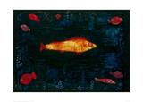 The Golden Fish, 1925 Giclée-Druck von Paul Klee