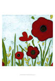 Precious Poppies IV Posters by June Erica Vess