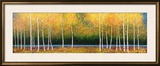 Grove Panorama Framed Giclee Print by Melissa Graves-Brown
