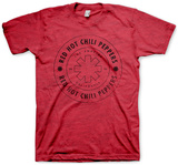 Red Hot Chili Peppers - Wheel Outline T-shirts