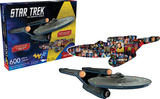 Star Trek 2 Sided 600 Piece Puzzle Jigsaw Puzzle