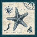 Ocean Life V Poster by  Pela