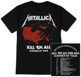 Metallica - Kill Em All Summer 83 T-shirts