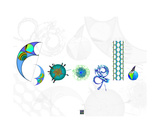 The STEM of Google Photographic Print by Thinker Collection STEM Art by Lisa C Clark