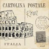 Postcard Sketches IV Poster von Anne Tavoletti